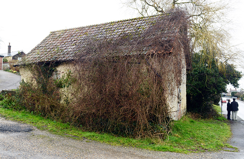 The old Tolpuddle chapel from the east