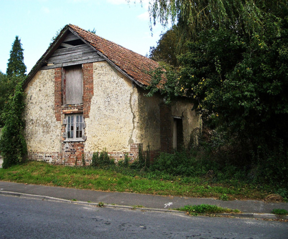The old Tolpuddle chapel from the south west